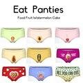 Fruit  sexy  panties 3D Printing Fruit  Sexy cake Women's Briefs Thong Bragas Culotte Femme Sexy Panties For Women Erotic