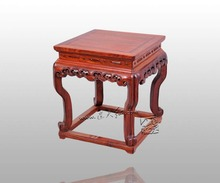 ruyi cloud grain stools living room shoes storage bench foot stools ottomans outdoor burma rosewood chinese furniture