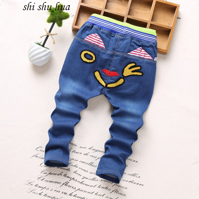 2017-spring-and-autumn-season-childrens-clothing-fashion-jeans-cartoon-printing-2-5-years-old-boys-and-girls-clothes-kids-pants-3