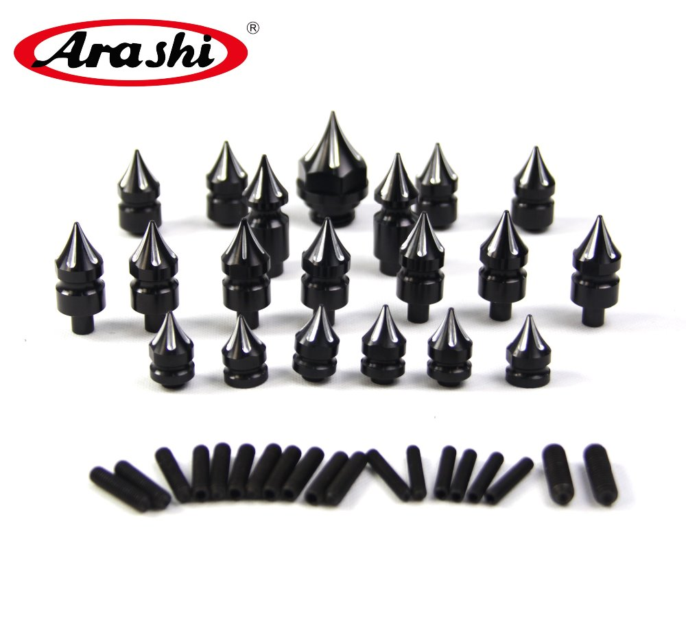 Arashi GSXR1300 Hayabusa One Set CNC Decoration Screws For SUZUKI GSXR 1300 2008-2017 Fairing Bolt Kit Motorcycle Accessories