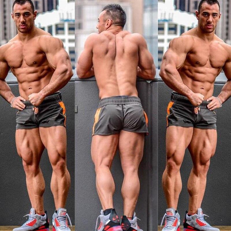 Nouveau été hommes Shorts gymnases Fitness musculation décontracté Joggers marque d'entraînement sport pantalons courts Sportswear pantalons de survêtement