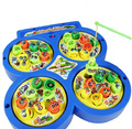 Hot Sale Electric Rotating Magnetic Magnet Fishing Kid Children Educational Toy Game Free Shipping
