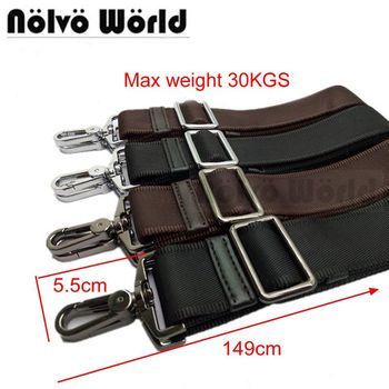 Powerful hook 31mm 38mm wide nylon belt strap,men bags long shoulder strap,man laptop bag straps,repair bag shoulder strap