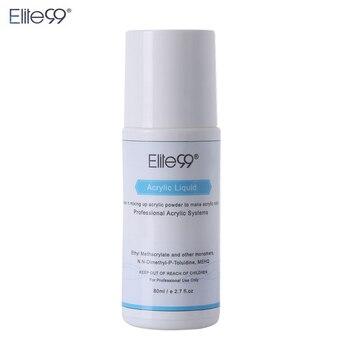 Elite99 Acryl Flüssigkeit Monomer Falsche Acryl Nail art 80 ml Salon Werkzeug Maniküre Nail art Für Acryl Pulver Staub Nägel tipps