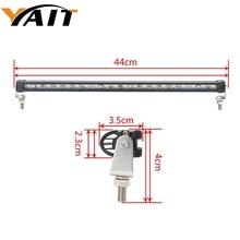 цена на Yait Super Slim Mini 10W 9 20W 17 Led Light Bar Offroad Spot Beam Led Work Light Driving Lamp for Truck SUV ATV
