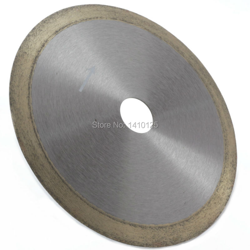 6 inch 150mm x 25 4mm x 1 1mm Diamond Continuous Rim Saw Glass Wet Cutting