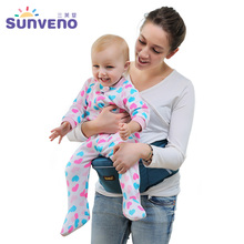 Sunveno New Design Baby Carrier Newborn Baby Infant Hip Seat Carrier Convenient Baby Hipseat(China)