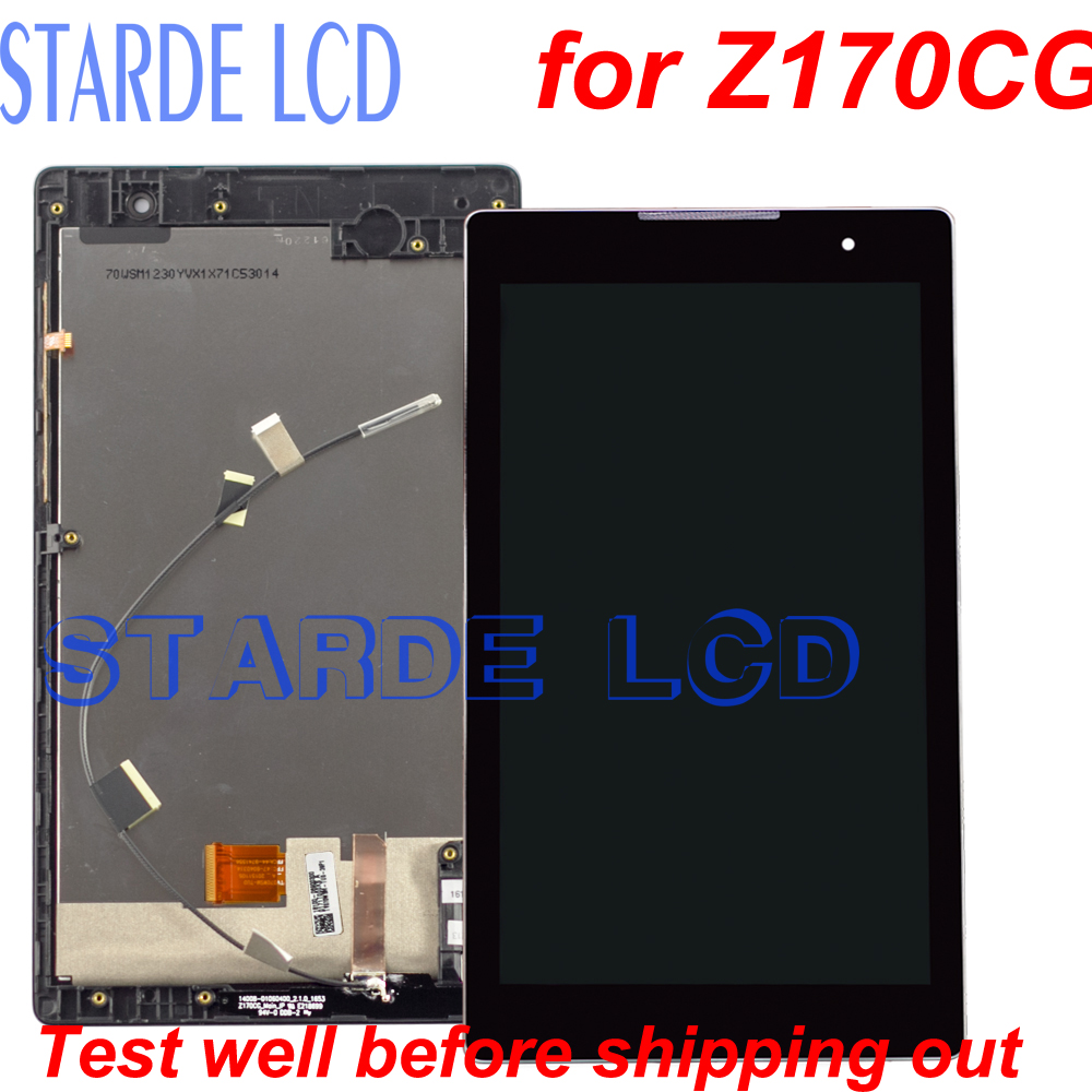 For Asus Zenpad C 7 0 Z170CG P01Y Z170 LCD Display Touch Screen Digitizer Assembly with