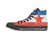 flag of yugoslavia High Top Canvas Shoes Flat Casual Custom Unisex Sneaker Drop Shipping