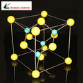 Educational Toys 30mm sphalerite ZnS model Cubic zinc sulfide Crystal structure Model Chemistry Molecular Modeling zinc blende