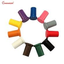 Купить с кэшбэком 11 Colors Pencil Holders Sensory Toys Wood Cylinder Preschool Home Wooden Materials Montessori Baby Toys Maths Children LA037-37