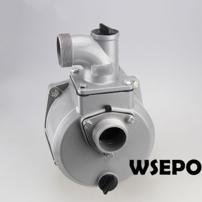 OEM Quality! 2 Inlet&2 Outlet Self-Priming Pump Assembly fits for 16mm threaded crankshaft Gasoline or Diesel Engine vacuum pump inlet filters f006 1 rc2 1 2