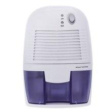Вилка Великобритании, мини Осушитель воздуха влагопоглотитель Электрический охлаждающий осушитель с резервуаром для воды 500 мл для дома спальни кухни O