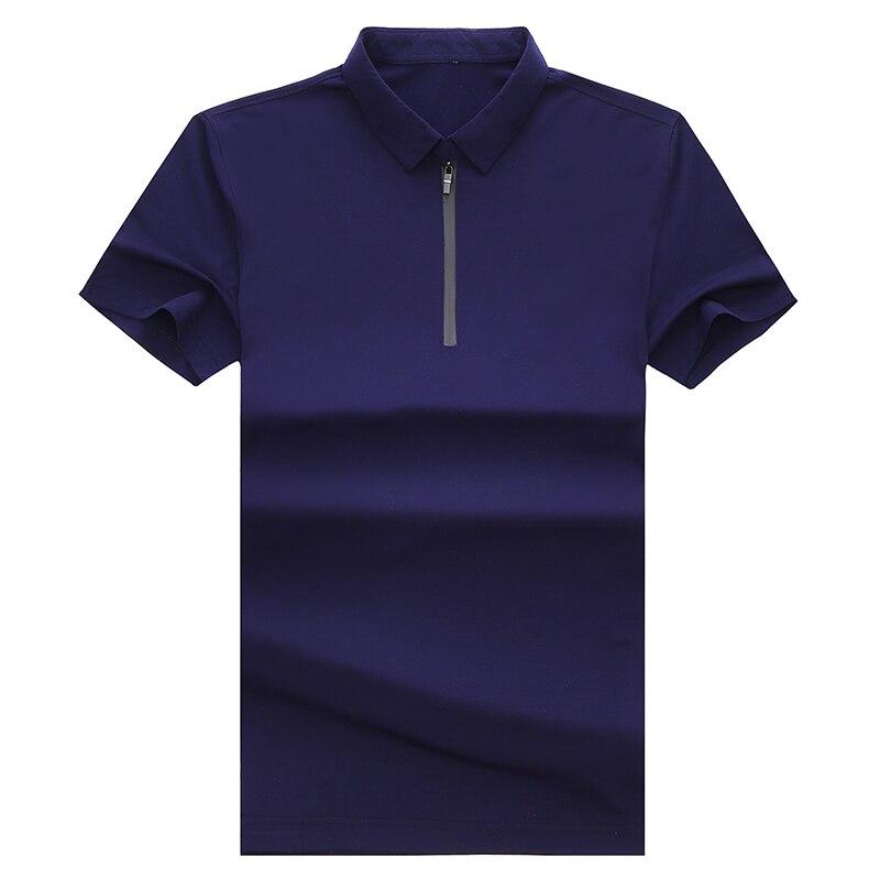 New 2018 summer mens slim plain color polo shirts male fashion design pure cotton short sleeve polos clothes 6