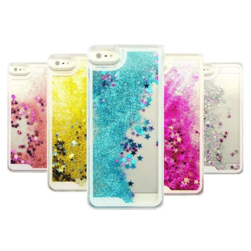 Trend Mark Transparent Fashion Dynamic Liquid Glitter Colorful Paillette Sand Quicksand Back Case Cover For Iphone 5/5s/ 6/6s Plus/7s Cellphones & Telecommunications Half-wrapped Case