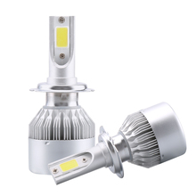 2X H7 Led H4 Car Headlights 80w 8000lm Car Led Light Bulbs H1 H8 H9 H11