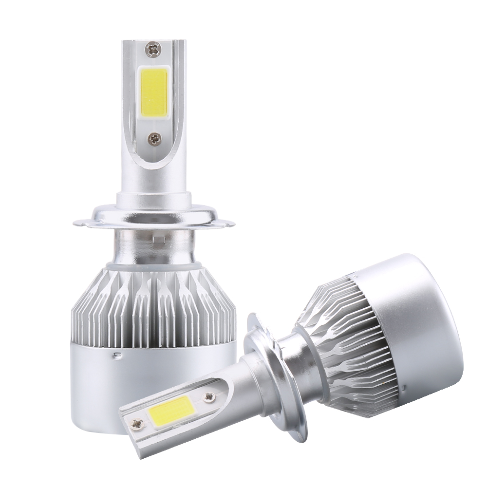2X H7 Led H4 Car Headlights 80w 8000lm Car Led Light Bulbs H1 H8 H9 H11 Automobiles Headlamp 6000K led 12v Fog Lamps C6 Led