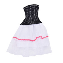 new year Best Present for kids Outfit Handmade Fashion Short Dress For Doll Dress Baby Girl Birthday Hot sale(China)