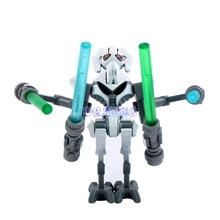 DR TONG PG8011 General Grievous With Lightsaber Gun Mini Dolls Building Block Children Gift Toys