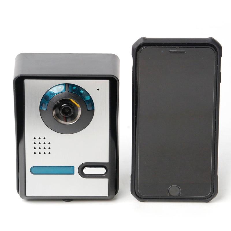 WIFI numérique vidéo sonnette interphone système sans fil IP sonnette Vision nocturne étanche 720 P porte interphone caméra déverrouiller à distance