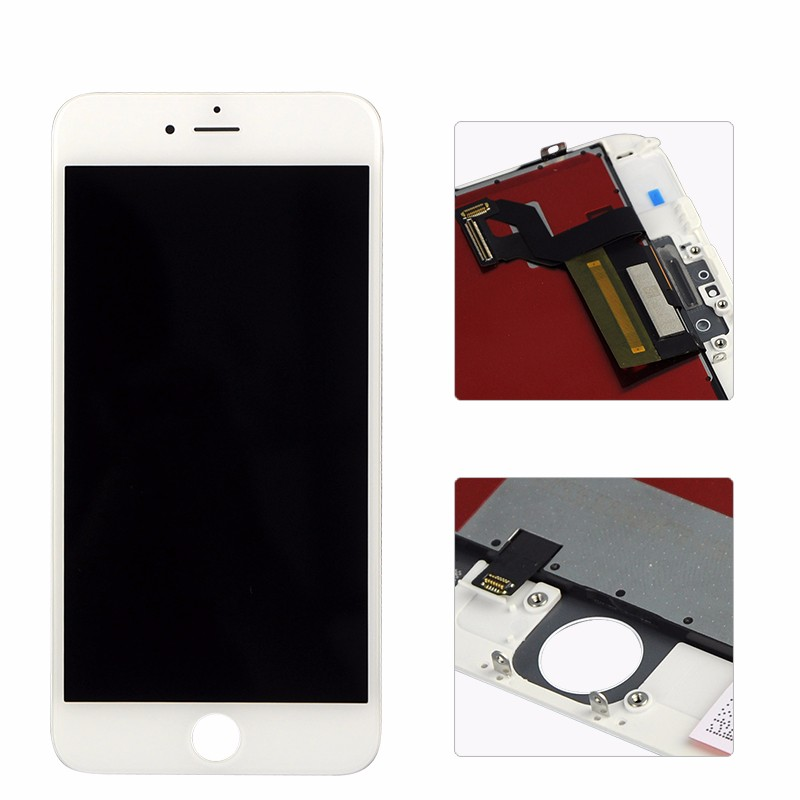 For iPhone 6S Plus LCD Display Touch Screen Digitizer Assembly Phone Replacement Parts Black White LCD For iPhone Display Screen lcd screen assembly for apple iphone 4 4g lcd display touch screen digitizer pantalla with frame bezel replacement black white