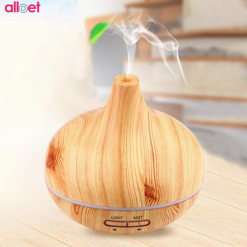 235ml Ultrasonic Air Humidifier Essential Oil Diffuser Aroma Lamp Aromatherapy Electric Aroma Diffuser Mist Maker for Home-Wood aroma oil diffuser ultrasonic humidifier remote control 10s 2h 4h timer 500ml tank lamp wood ultrasonic humidifiers for home