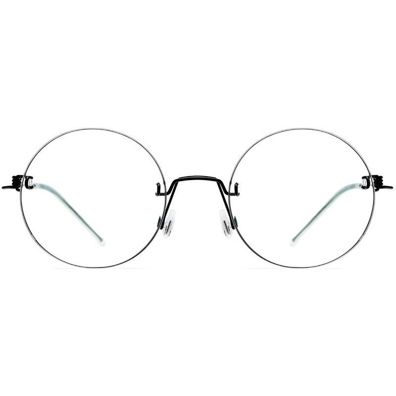 Brille Randlose Männer Optische 2019 Brillen Ultraleicht Schraubenlose Myopie Platz Frau wfnPqvI