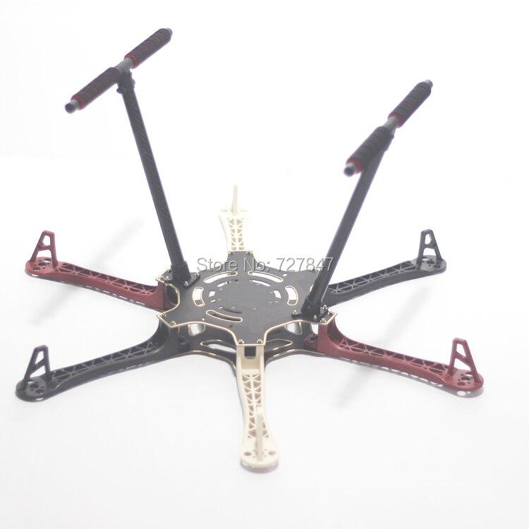 F550 550mm Hexa Rotor Air Frame FlameWheel Kit Mit Carbon Fahrwerk für KK MK MWC MultiCopter hexacopter-in Teile & Zubehör aus Spielzeug und Hobbys bei  Gruppe 2