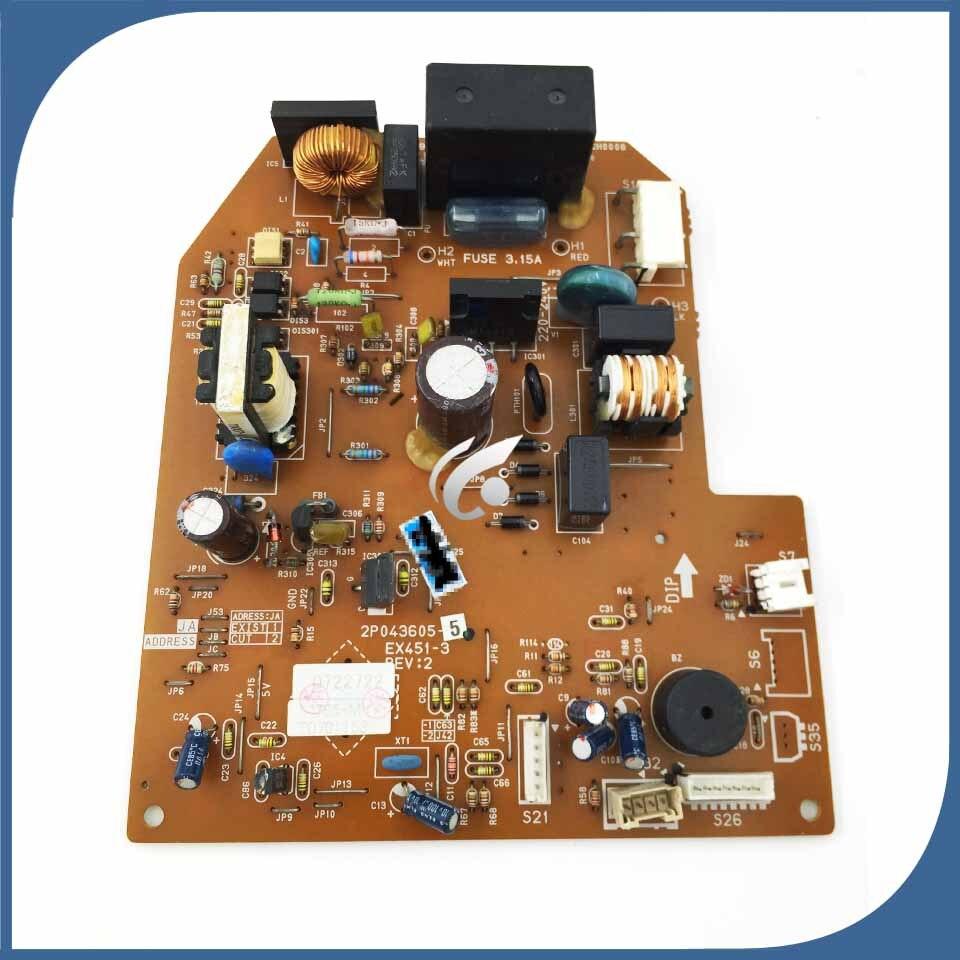 95% nouvelle bon pour air conditionné ordinateur de bord carte mère 2P043605-5 EX451-3