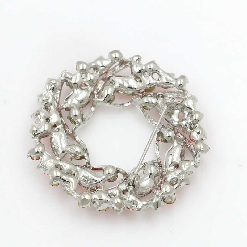 Pabrik Penjualan Langsung Wanita Kristal Berlian Imitasi Garland Bros Dalam 5 Warna Gratis DHL/Ems Pengiriman Pesanan $100 +