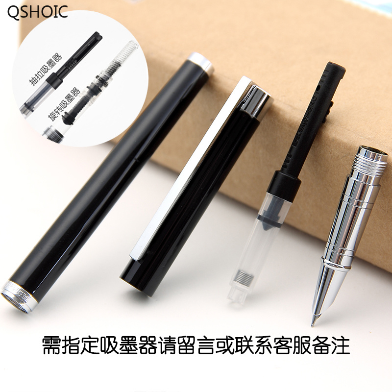 Fountain Pen for Adult Male Special Fine Point 0 38mm Thin Pole Wrap Point Fountain Pen for Business in Fountain Pens from Office School Supplies