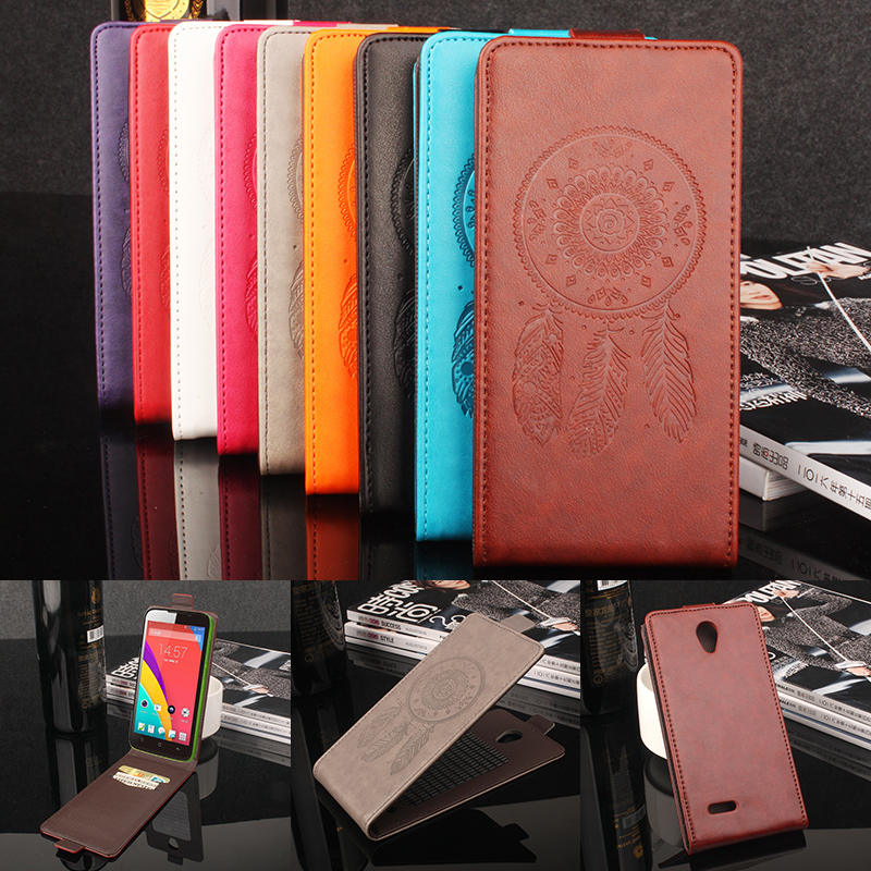 9 colores dreamcatcher casos de cuero soporte de la carpeta del teléfono case cu
