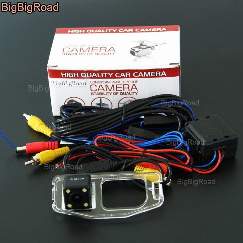 BigBigRoad заднего вида обратный резервный Камера с фильтром/реле для Honda Odyssey 2009 2010 2011 2012 2013 2014 2015