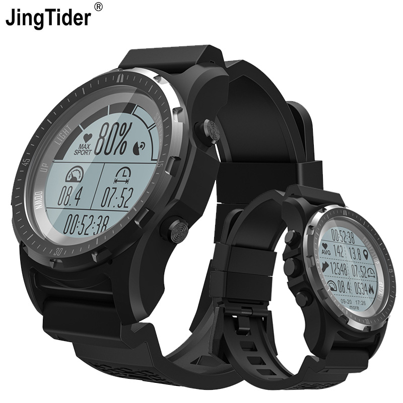 New S966 GPS Outdoor Sport Smart Watch Heart Rate Monitor Multi sport Mode GPS Compass Altimeter
