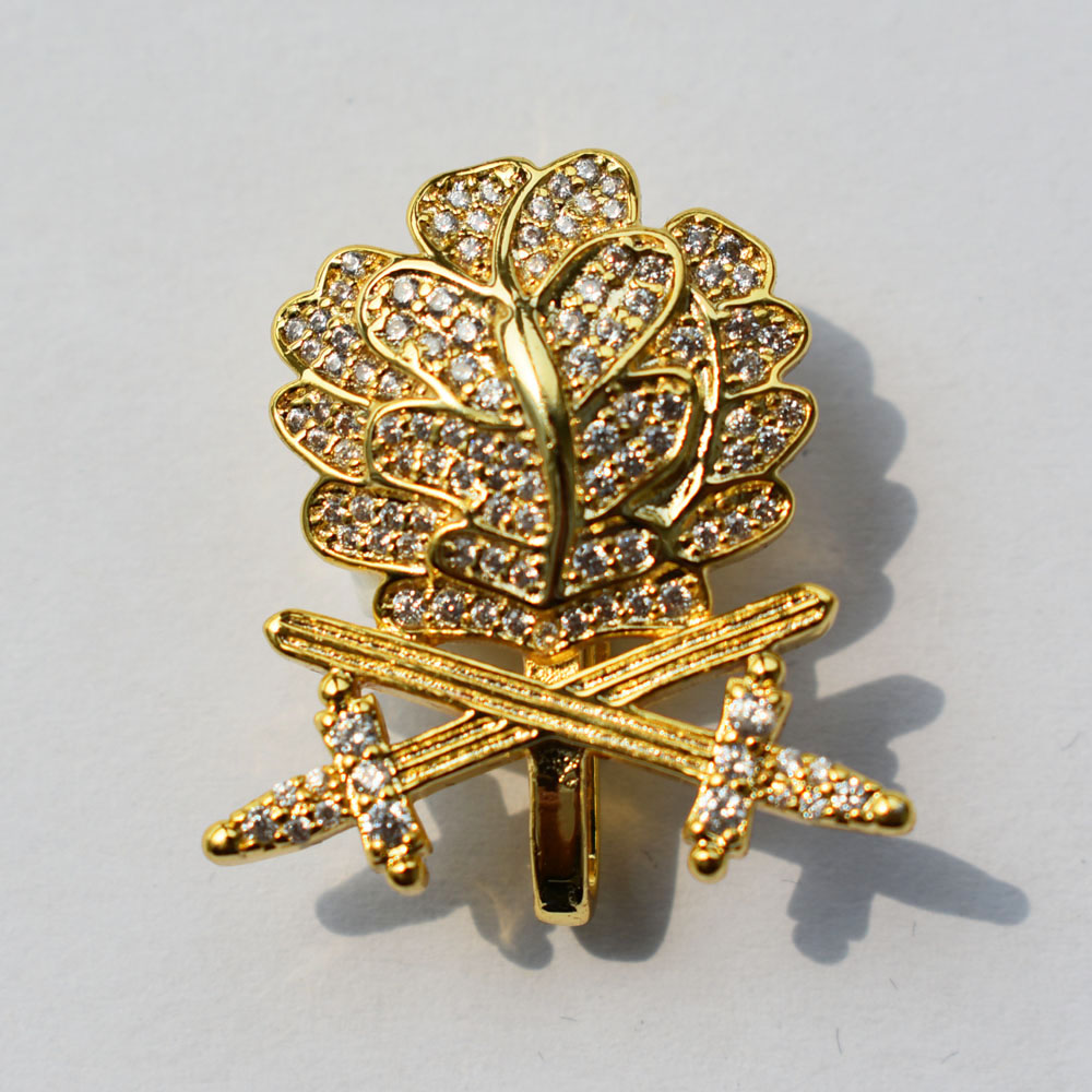 WWII GERMAN WH OAK LEAF SWORDS DIAMONDS KNIGHTS IRON CROSS GOLD