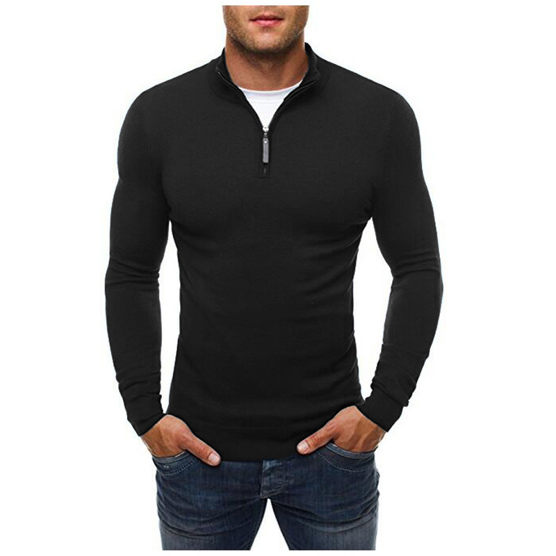 Men 'S Pullover Sweaters  New Fashion Brand Casual Sweater Turtleneck Slim Fit Knitting Mens Sweaters Men Pullover Men