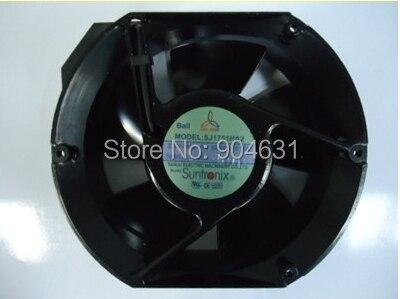 Free Shipping SANJUN SANJU Suntronix SJ1751HA1 AC110V Iron Impeller Axial Flow Fan Made In Taiwan free shipping 133 disc centrifugal fan ywf f2s 133 220v 32w plastic impeller