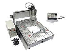 cnc lathe machine 6040Z VFD1.5KW USB 3axis USB Port cnc router