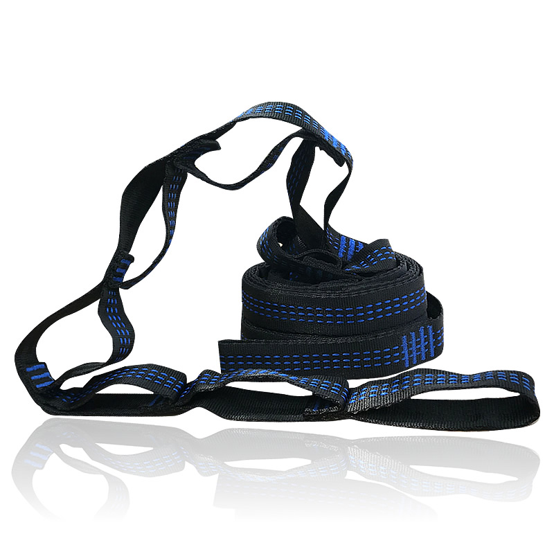 Essential Can Hold 2000kg Out Door Camping Hiking Hammock Hanging Belt Hammock Strap Rope with Load Bind RopeEssential Can Hold 2000kg Out Door Camping Hiking Hammock Hanging Belt Hammock Strap Rope with Load Bind Rope
