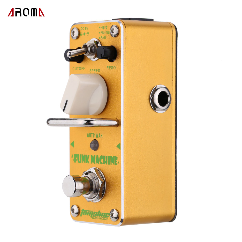 AROMA AFK 3 Funk Machine Auto Wah Electric Guitar Effect Pedal Mini Single Effect with True