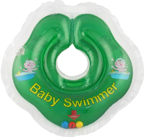 Children's neck swimming ring Baby Swimmer BS02G-B baby swimmer towel the corner makhra 100 100 lime bst11c