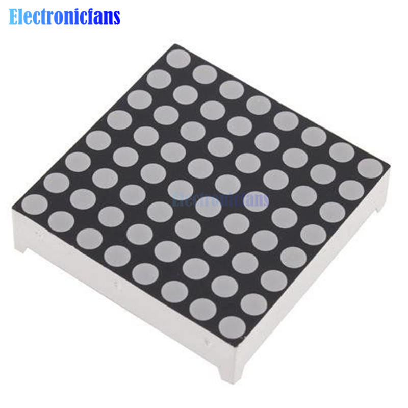8x8 3mm Dot Matrix Display Red LED Display Common Anode