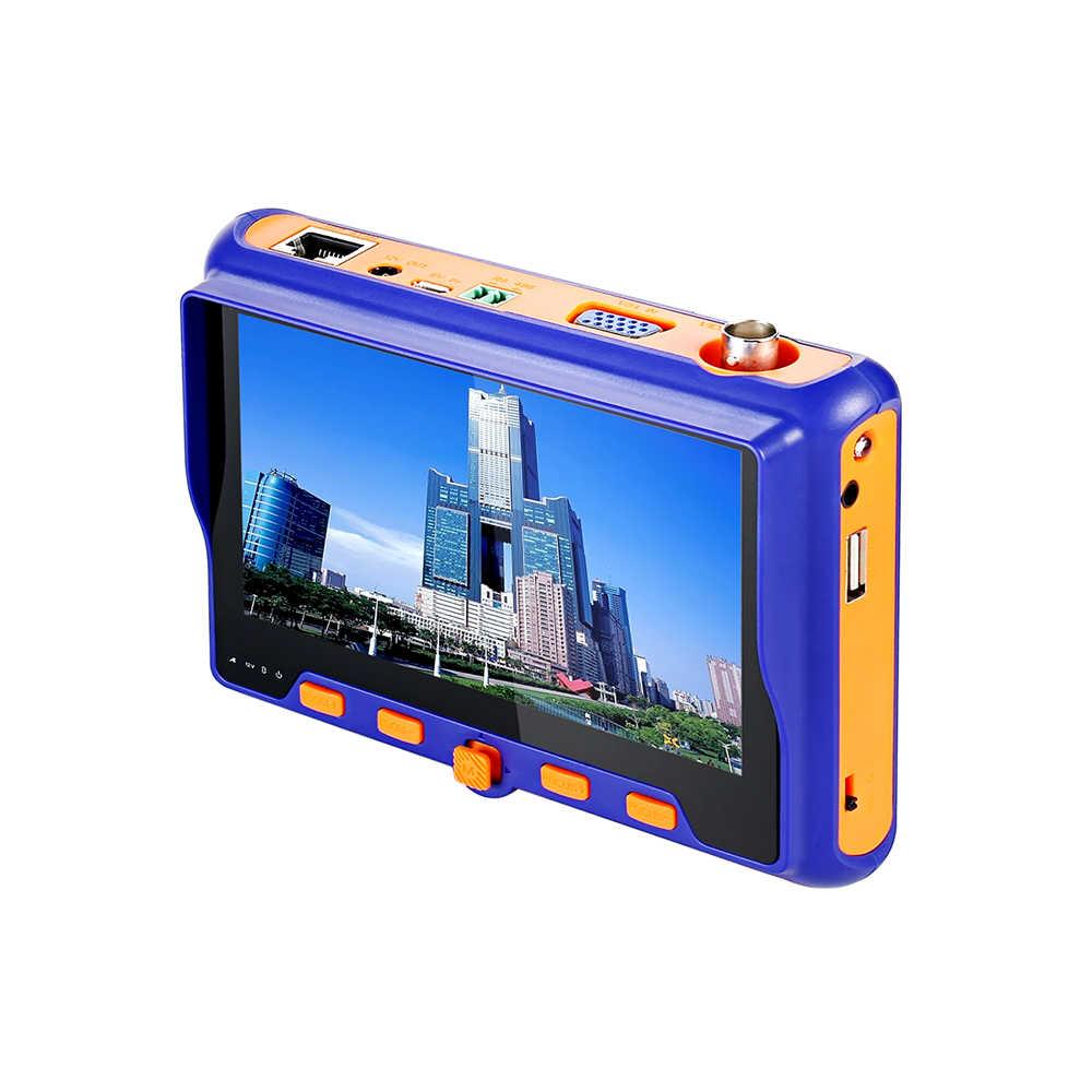 5MP 2MP CCTV テスター 5 インチ TFT 液晶 TVI AHD CVI CVBS アナログ 4IN1 セキュリティカメラテスターモニター Vga 出力 UTP ケーブルテスト