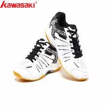 Kawasaki профессиональная обувь для бадминтона дышащая Нескользящая спортивная обувь для мужчин и женщин кроссовки K-063