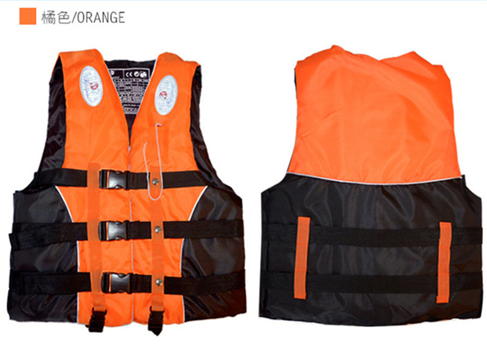 Swimming Boating Ski Drifting Life Vest with Whistle M-XXXL Sizes Water Sports Man kids Jacket Polyester Adult Life Vest Jacket