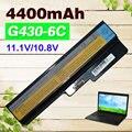 4400 mah bateria para lenovo 3000 b460 b550 g430 g430a g430l g430m G450 G450 G450A G450M G455 G550 G555 G530 G530A G530M N500