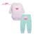 Otoño de $ Number Piezas Ropa de Bebé Set Girls Cartoon Helado Completa Mangas Del Mono + Pantalones Bebé Niños Trajes de Niño ropa