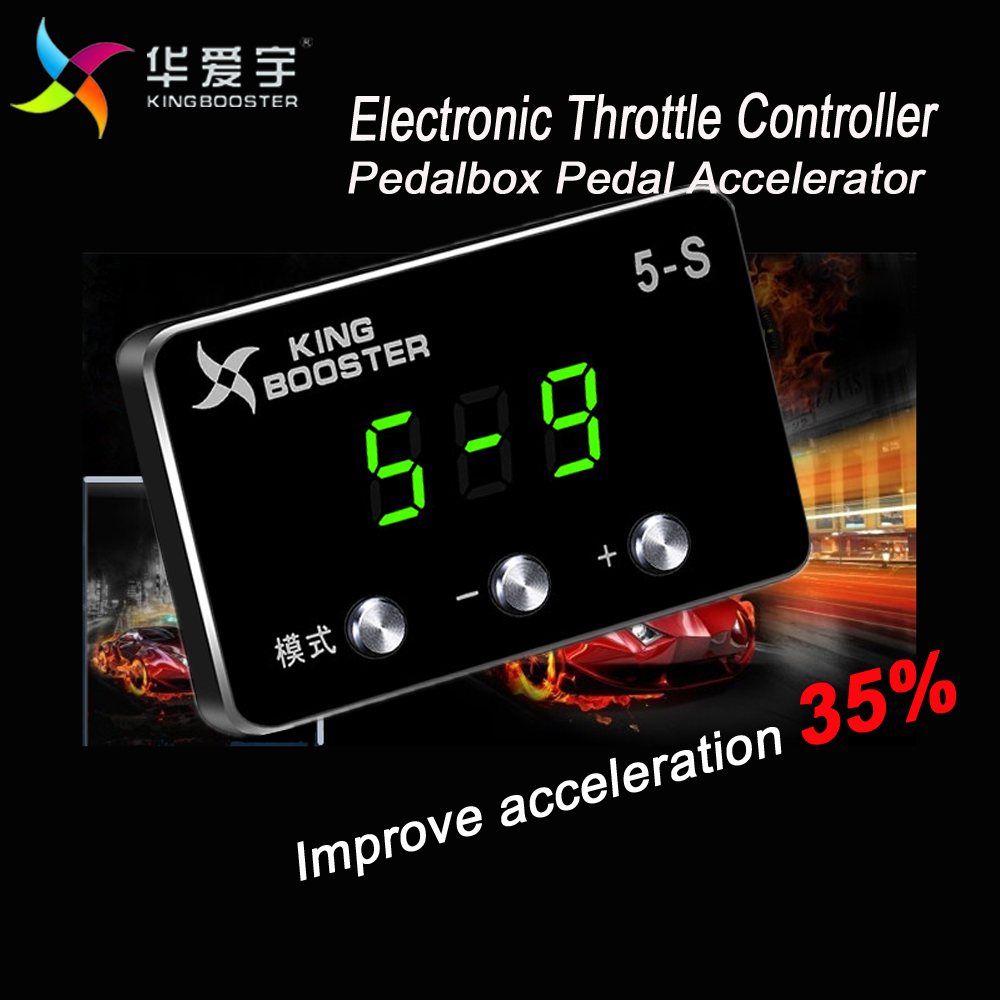 Car Pedal Case Accessories Electronic Throttle Controller Accelerator For MITSUBISHI PAJERO SPORT Montero Sport 2007+ litanglee car accelerator pedal pad cover racing sport for mini cooper clubman r55 f54 2007 onwork at foot throttle pedal cover