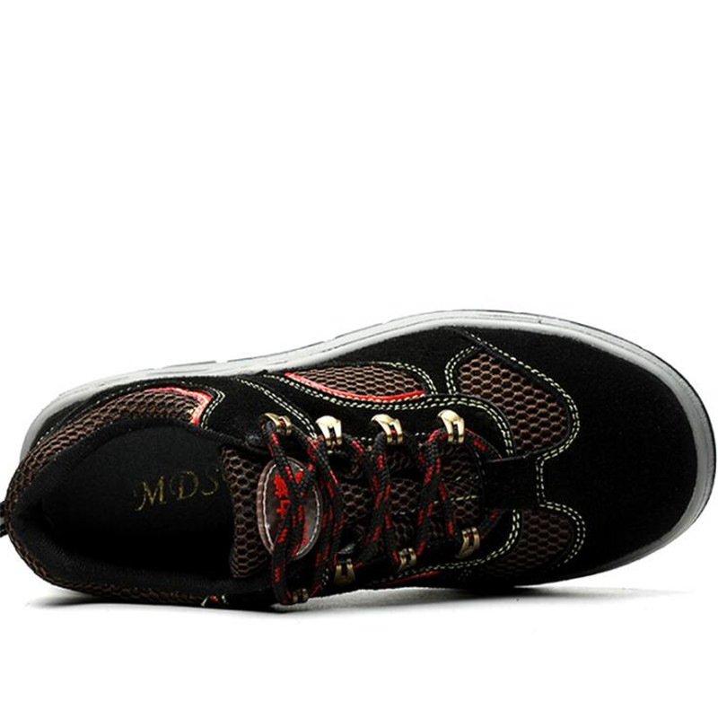 Para 38 Tênis Caminhada Sapatos De esmagamento Segurança Black Ao Trabalham 44 Ar Red Botas Aoxunlong Anti Homens Livre Aço Trabalho Cabeça 1qx7PgFwT