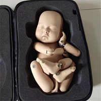 Accesorios para fotografía de bebé recién nacido accesorios para fotos de bebés bebé posando muñeca articulada muñeca juguete de entrenamiento de simulación